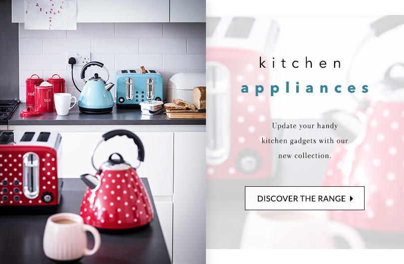 Get ready, set, bake! Shop our fantastic range of kitchen appliances at George.com
