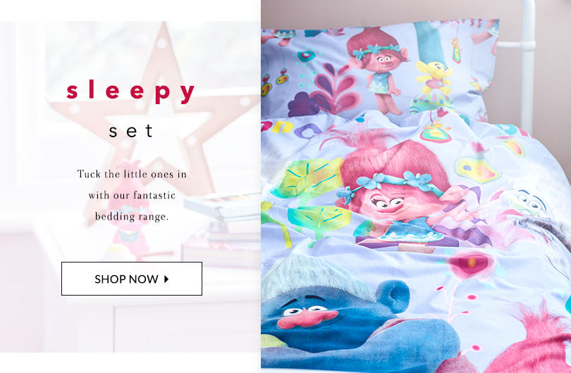 Tuck them in with our fun range of kids' bedding at George.com
