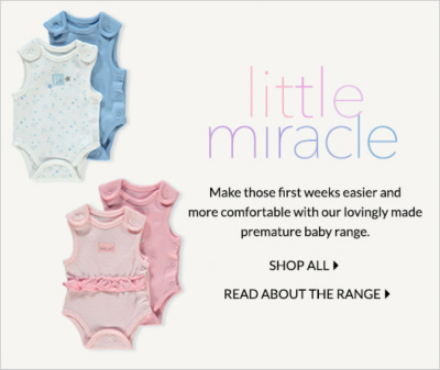 Make their first weeks comfier with our premature baby range at George.com