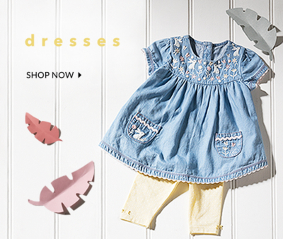 Find the sweetest outfits and dresses for your little one at George.com