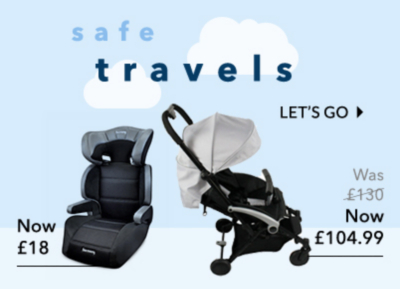 Shop baby car seats and more at George.com