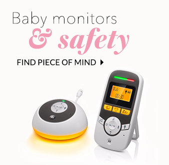 Keep them safe and sound with our range of monitors