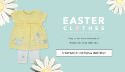 Shop cute dresses for Easter at George.com