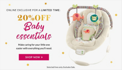 Find everything you need for your little bundle of joy at George.com