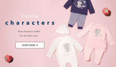 Find adorable outfits for your little one at George.com