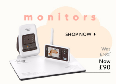 Sleep easy with our baby monitor range at George.com