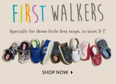 Shop baby's first shoes at George.com