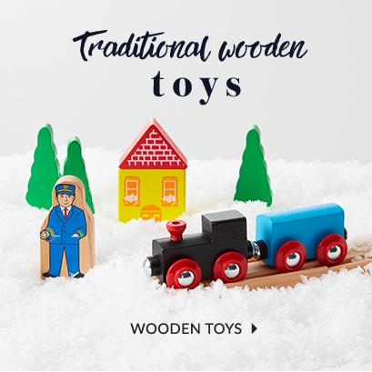 Top up their toy box with our selection of wooden toys at George.com