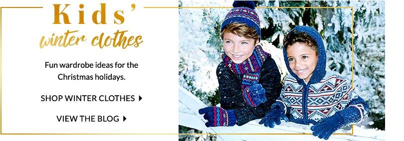 Keep them warm and snug with our range of scarfs, gloves jumpers and more at George.com