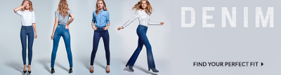 It's love at first wear - find your perfect pair of jeans at George.com