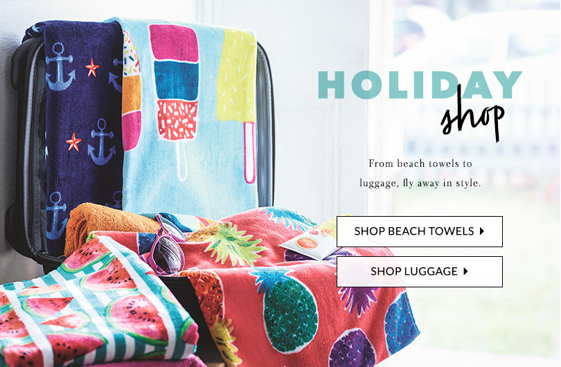 Hitting the beach or lounging by the pool? Soak up the sun with our stylish range of beach towels at George.com