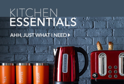 Shop those kitchen must-haves at George.com