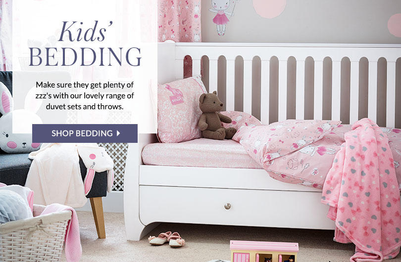 Tuck them in to our gorgeous range of character bedding at George.com