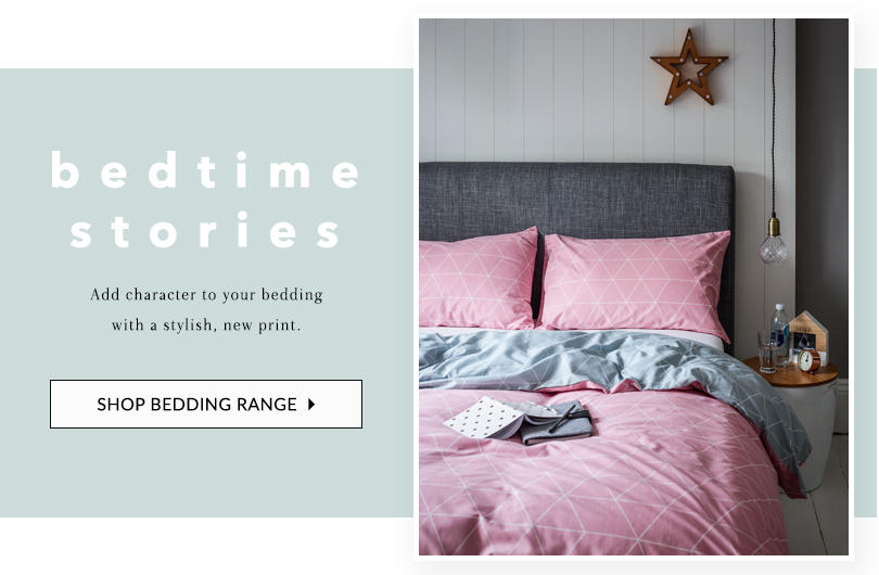 Add character to your bedroom with our dreamy duvet sets at George.com