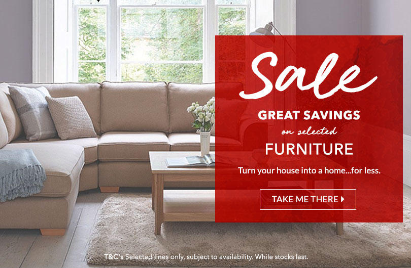 Turn your house into a home with up to 50% off all furniture at George.com