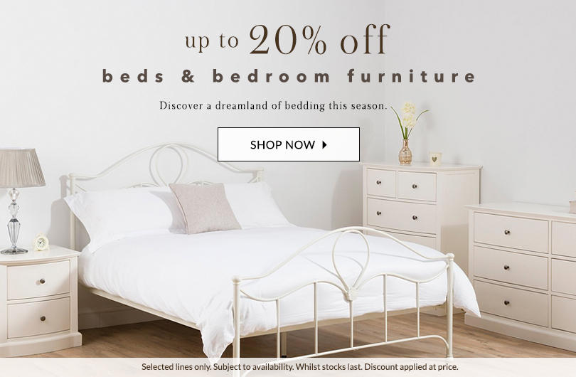 Sleep easy with our bedroom furniture SALE at George.com