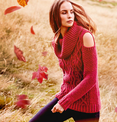 Has winter crept up on you? Take a look at our world of knitwear blog at george.com for some cold weather inspiration