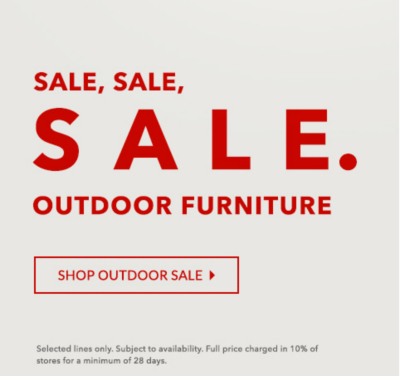 Give your garden an update with our outdoor SALE at George.com
