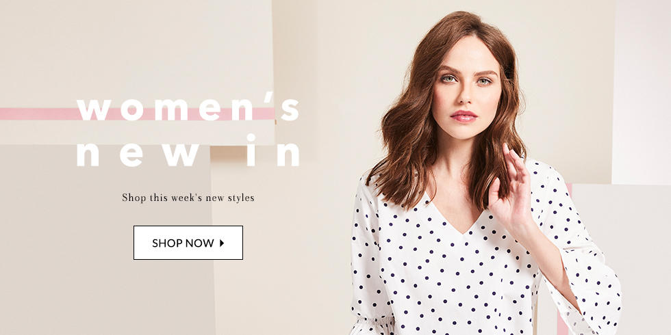 Find out what's new this week and shop the latest womenswear at george.com
