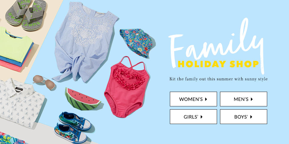 Keep your little ones looking stylish with our range of summer options from shorts to polos.