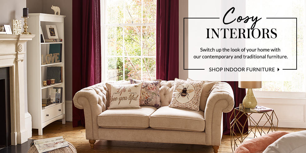 Turn your house into a home with our range of indoor furniture at George.com