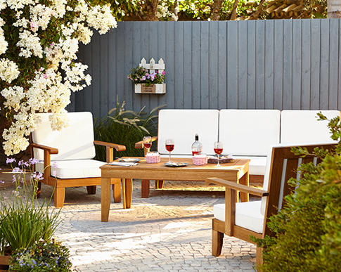 Create the perfect late-summer vibe with ouroutdoorconversation sets - great value and only here at George at Asda