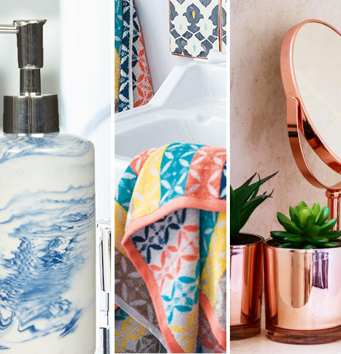 Find gorgeous inspiration for your bathroom at George.com