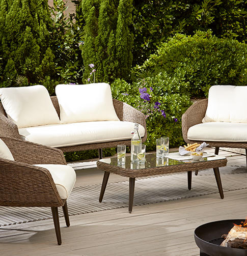 Create a beautiful haven with the latest garden furniture at George.com