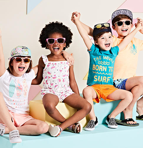 Look stylish this bank holiday with our new collection of tees, shorts, dresses and swimwear for all the family at George.com
