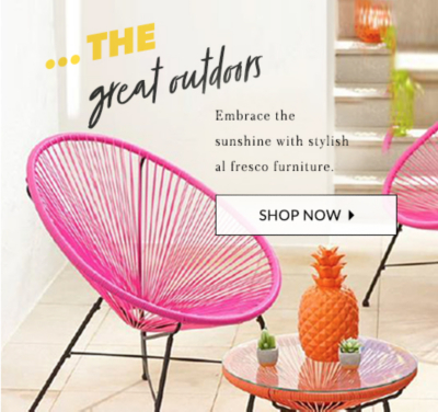 Find stylish outdoor furniture for your garden at George.com