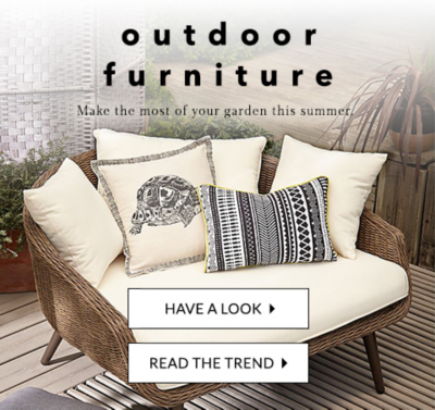 Turn your garden into a haven this summer with the latest outdoor furniture at George.com