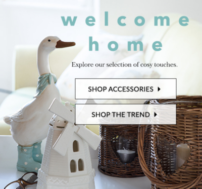 Transform your home with our Ambleside trend at George.com