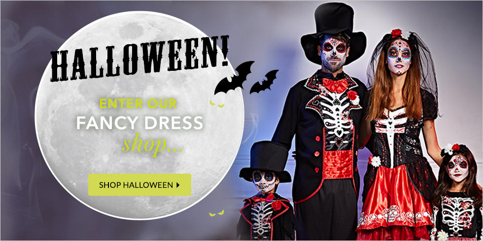 Explore our family fun Halloween range at George.com