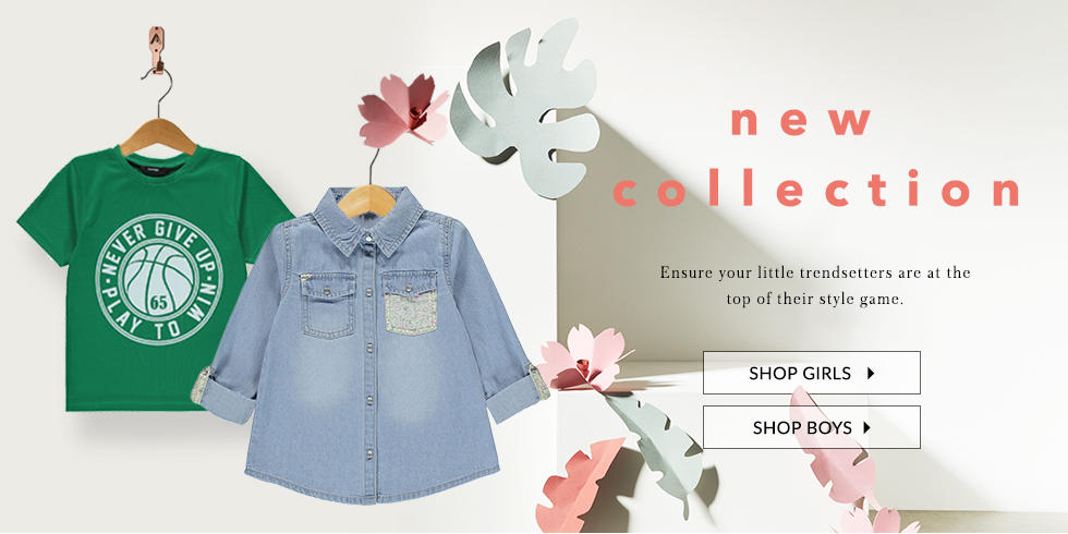 Shop new in clothing for girls and boys at George.com