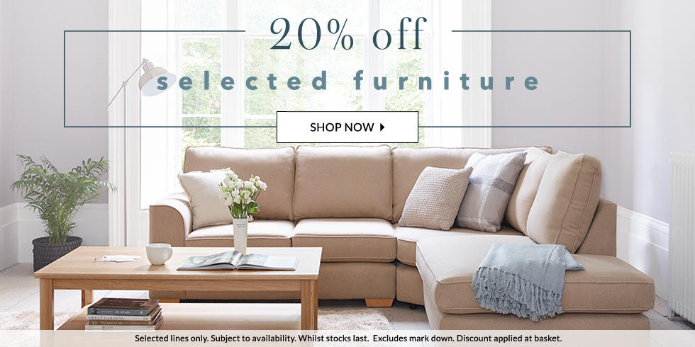Enjoy 20% off furniture at George.com