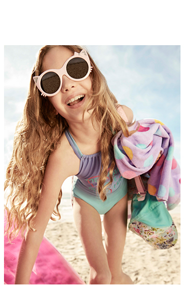 Whether hitting the pool or the sea, kit out little ones in our swimwear including costumes, bikinis and trunks at George.com