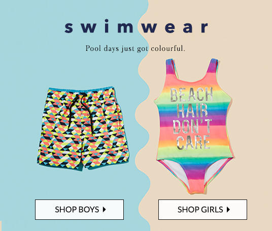Shop splashing swimwear for kids at George.com