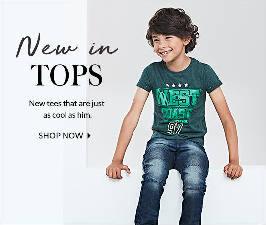 Shop our extensive range of boys t-shirts and tops at george.com - because he can never have enough!