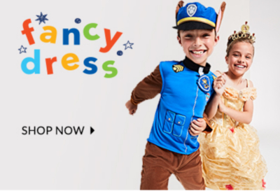 Get them into character with our fancy dress shop at George.com