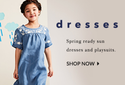 Shop girls' lovely dresses at George.com