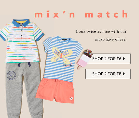 Mini looks, BIG offers - discover more at George.com