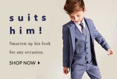 Make sure your little one looks their best with our collection of formalwear at George.com