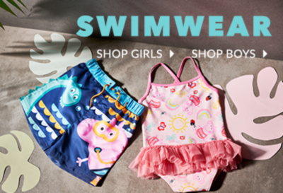 Treat them to splashing styles with our fun range of swimwear at George.com