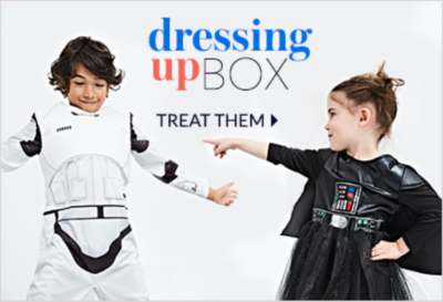 Dress your little one in their favourite character outfits from our character shop at George.com