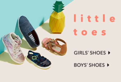 Treat little feet to stylish footwear at George.com