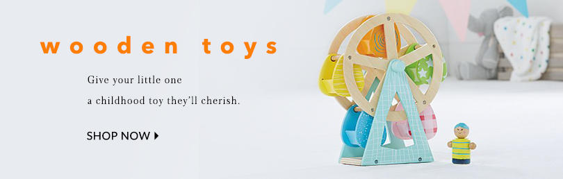 Make everyday playtime with our traditinal range of wooden toys at George.com
