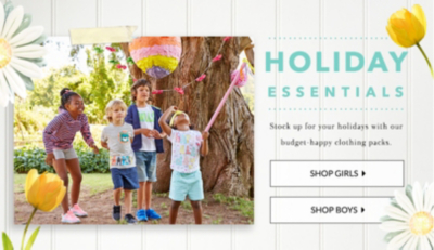 Get sunshine-ready with our kids' holiday essentials at George.com