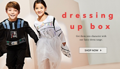 Spark your little one's imagination with our fancy dress range at George.com