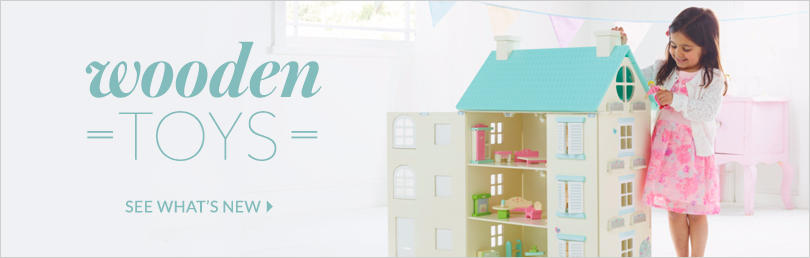Discover the wonders of wooden toys at George.com