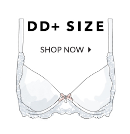 Find DD size bras to suit your shape at George.com now, with the prettiest lace, prints and designs plus support and padded bras